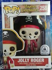 2017 Disney Parks Funko Pop MINT EXCLUSIVE JOLLY ROGER Pirates of The Caribbean.