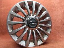 735573714 Aluminium Rim with Hubcap 7 x 17 ET41 Fiat 500L Fast like New Original