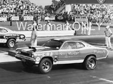 """""""Sox & Martin"""" Ronnie Sox 1970 Plymouth Duster Pro Stocker PHOTO! #(1)"""