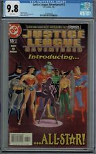 CGC 9.8 JUSTICE LEAGUE ADVENTURES #13 1ST APPEARANCE OF ALL-STAR 2003 JL AMERICA