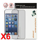 6x Premium JAPANESE FILM,Anti-glare/Matte Screen Protector for iPod touch 5th