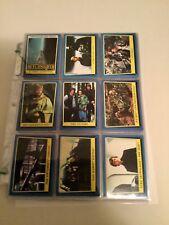 Return of the Jedi series 2 rare original cards and stickers set 1983