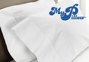 My Pillow Pillow Case Set 100% Certified Giza Long Staple Cotton