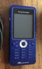 Sony Ericsson Walkman W302 Blue O2 Mobile Phone + SIM