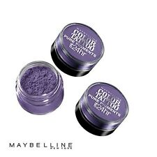 LOT OF 3 - MAYBELLINE COLOR TATTOO PURE PIGMENTS EYE SHADOW #15 POTENT PURPLE