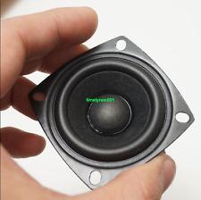 """2pcs 2"""" inch 2Ohms 2Ω 3W Neodymium Full range speaker Loudspeaker Rubber edge"""