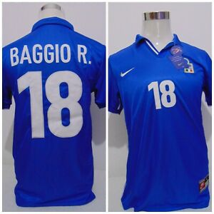 MAGLIA SHIRT ITALIA ROBERTO BAGGIO NIKE 1998 TAGLIA L