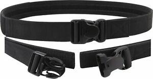 Black Triple Retention Tactical Law Enforcement Duty Belt