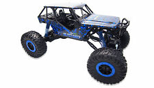 RC Auto Crazy Blue 4WD RTR 1:10 Rock Crawler Monstertruck Offroad 2.4 GHz Neu