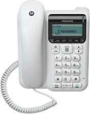 Motorola CT610 Corded Telephone w/ Answering Machine & Call Block