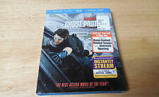 NEW FACTORY SEALED MISSION IMPOSSIBLE GHOST PROTOCOL BLU RAY + DVD- DIGITAL COPY