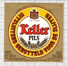 HOLLAND de Vriendenkring BV,Breda KELLER 30cl 84-85 beer label C1846 019