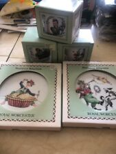 Royal Worcester Nursery Rhymes Plates And Cups Set