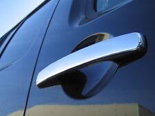 Chrome Inox Poignée De Porte Couvre Pour Nissan Navara D40 Double Cabine Pick-up New