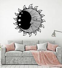 Vinyl Wall Decal Sun Moon Stars Bedroom Room Decoration Interior Stickers ig4915