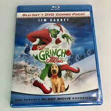 Dr. Seuss' How The Grinch Stole Christmas Blu-Ray + Dvd Combo Pack New & Sealed