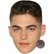 Hero Fiennes Tiffin (Dark Hair) Celebrity Mask, Card Face