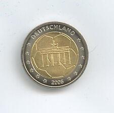 Medaille 2 Euro Fussball-WM Deutschland 2006 Bimetall Ø 25 mm 13 Gr. B57/12