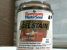 Thompson's WaterSeal Gel Stain, Pure White 32 fl. oz.