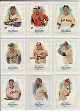 2013 Topps Allen Ginter Complete Base Set (300) ALL SLEEVED Manny Machado Rookie