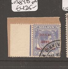 Malaya Jap Oc Straits DN invert 15c SG J84b VFU (4azb)