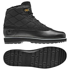NEW~Adidas ADI NAVVY QUILT Boot FUR Line Winter superstar Shoes gsg9~Mens Size 8