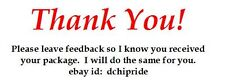 180 ebay seller thank you labels for packages.  Self adhesive, peel and stick