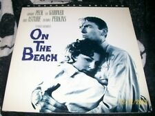 On the Beach Widescreen Edition Laserdisc Gregory Peck Free Ship $30 Orders