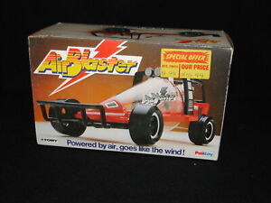 BOXED VINTAGE PALITOY AIR BLASTER AIR POWERED CAR C/W BOX INNERS