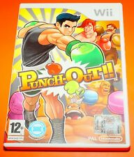 Punch-Out Gioco Games VideoGame Videogioco per Console Nintendo Wii U Wii Used