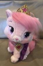 Disney Blip Toys Princess Aurora Palace Pets Beauty Pink Kitty Cat Plush