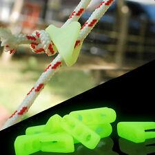10X Outdoor Luminous Seil Schnalle Zelt Dreieck Schnalle SicherheitswarnschnallA