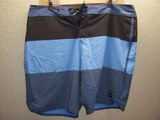 "QUIKSILVER Mens 38"" Waist 10%Elastane Stretch High-Line Boardshorts"