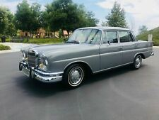 1967 Mercedes Heckflosse W111 230S Automatik  Sammlerzustand TOP 118000 Milles