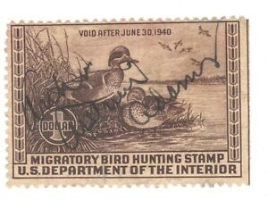 Scott RW 6 Federal Duck Stamp