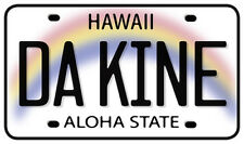Car Window Bumper Sticker - Hawaiian Art Decal - DaKine License Plate