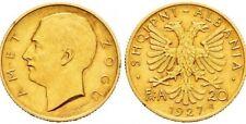 Albania Gold Coin 20 Franga Ari 1927
