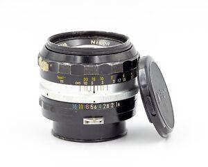 Nikon Nikkor 50mm f/1.4 S.C Fast Standard Prime Lens