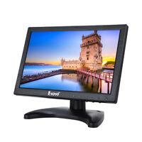 "Eyoyo 10"" IPS LCD HD 1080p Screen Monitor 1280*800 HDMI VGA AV BNC PC Home CCTV"