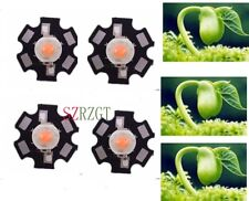 100pcs 3W full spectrum 400nm~840nm led grow lights for hydroponics With 20mm
