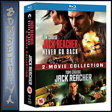 JACK REACHER - 2 MOVIE COLLECTION **BRAND NEW BLU-RAY BOXSET***