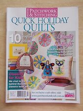 Patchwork & Stitching Vol 14 #12~Quilts~Cushions~Fairy~Wall-Hangings~Runner...