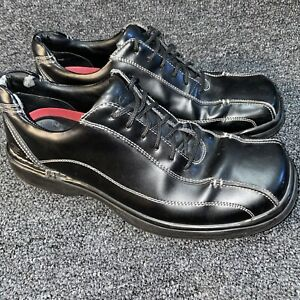 Skechers SN60653 Casual Oxford Sneakers Shoes Size 10 Black