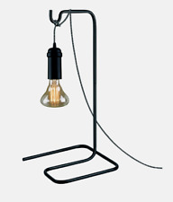 Globe PENDANT Light TABLE STAND Matte Black E26 Downlight Counter Desk 65749 NEW