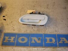 2001 Honda Accord LX  driver left rear outside door handle white nh578 2002