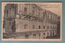 CALTANISSETTA Palazzo Moncada (Mensole) 1560 lato sud / Cinema Trieste vg. 1928
