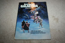 Vintage The Battlestar Galactica Storybook 1979 Softcover - C705