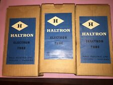 KT66 OSRAM SOLD AS HALTRON ENGLAND  NOS BOXED  SINGLE VALVE/TUBE LOC 1-3