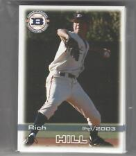 COMPLETE 2003 BOISE HAWKS TEAM CARD SET MINORS SS CHICAGO CUBS W/ RICH HILL RC
