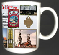 TILMANSTONE COLLIERY COAL MINE MUG. LIMITED EDITION. GREAT GIFT.KENT MINERS CUP
